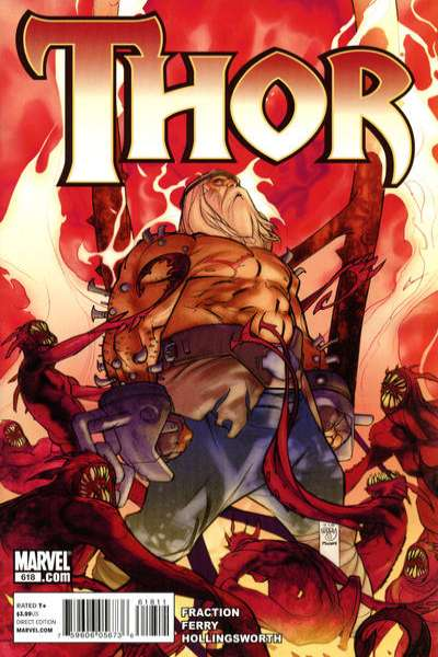 Thor #618 Comic Books - Covers, Scans, Photos  in Thor Comic Books - Covers, Scans, Gallery