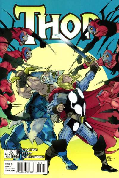 Thor #620 Comic Books - Covers, Scans, Photos  in Thor Comic Books - Covers, Scans, Gallery