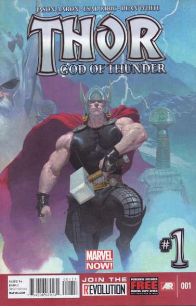 Thor: God of Thunder #1 comic books - cover scans photos Thor: God of Thunder #1 comic books - covers, picture gallery