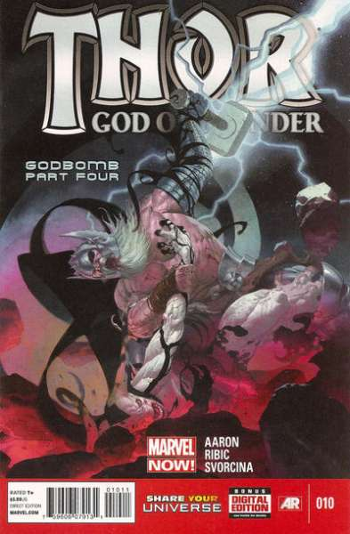 Thor: God of Thunder #10 comic books - cover scans photos Thor: God of Thunder #10 comic books - covers, picture gallery