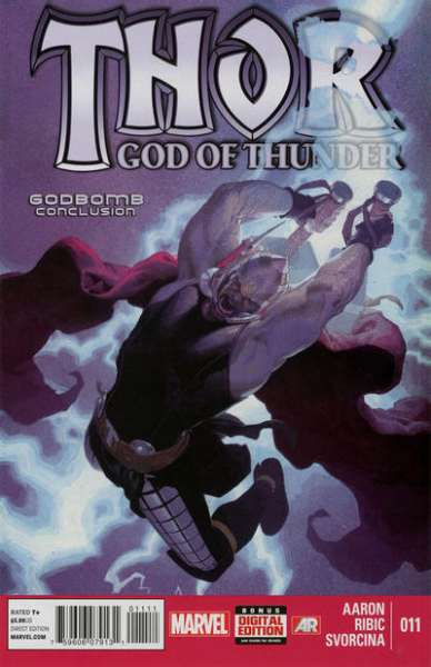 Thor: God of Thunder #11 comic books - cover scans photos Thor: God of Thunder #11 comic books - covers, picture gallery