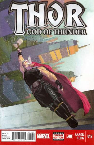 Thor: God of Thunder #12 comic books - cover scans photos Thor: God of Thunder #12 comic books - covers, picture gallery