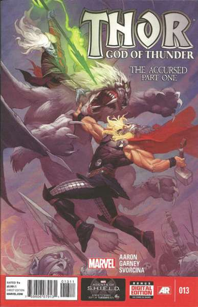 Thor: God of Thunder #13 comic books - cover scans photos Thor: God of Thunder #13 comic books - covers, picture gallery