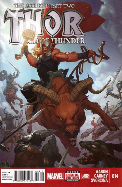 Thor: God of Thunder #14 comic books - cover scans photos Thor: God of Thunder #14 comic books - covers, picture gallery