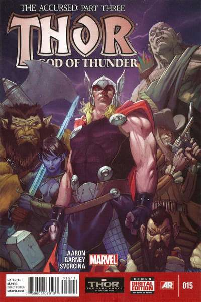 Thor: God of Thunder #15 Comic Books - Covers, Scans, Photos  in Thor: God of Thunder Comic Books - Covers, Scans, Gallery