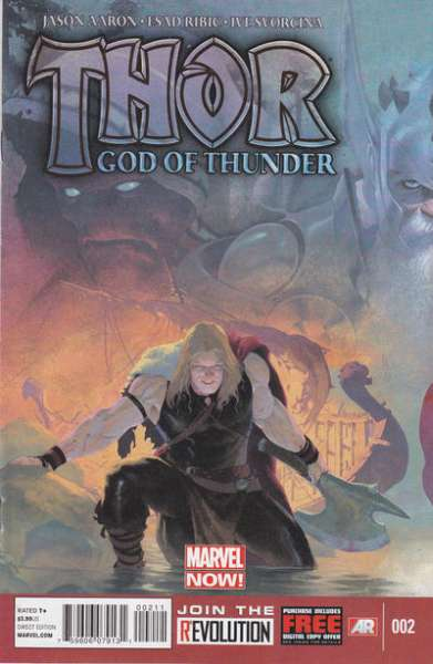 Thor: God of Thunder #2 Comic Books - Covers, Scans, Photos  in Thor: God of Thunder Comic Books - Covers, Scans, Gallery