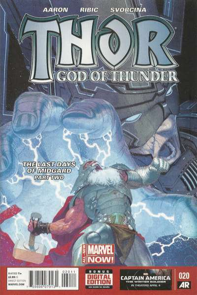 Thor: God of Thunder #20 Comic Books - Covers, Scans, Photos  in Thor: God of Thunder Comic Books - Covers, Scans, Gallery