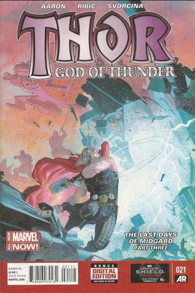 Thor: God of Thunder #21 Comic Books - Covers, Scans, Photos  in Thor: God of Thunder Comic Books - Covers, Scans, Gallery