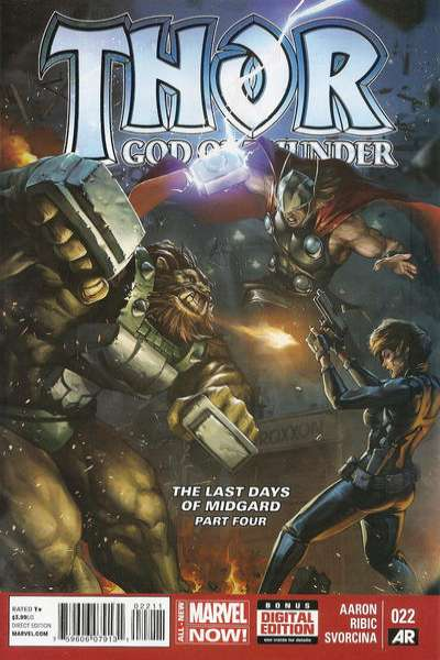 Thor: God of Thunder #22 comic books for sale