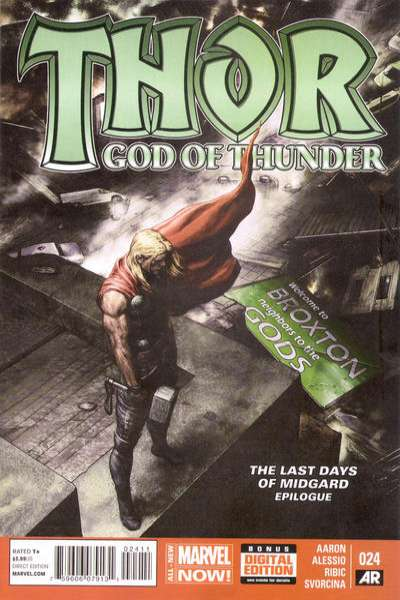 Thor: God of Thunder #24 Comic Books - Covers, Scans, Photos  in Thor: God of Thunder Comic Books - Covers, Scans, Gallery