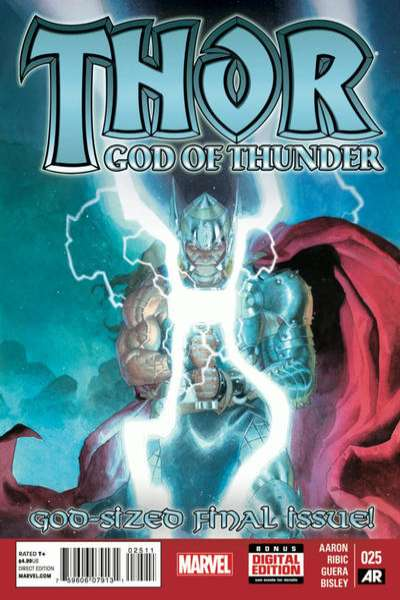 Thor: God of Thunder #25 comic books for sale
