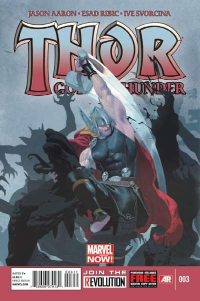 Thor: God of Thunder #3 Comic Books - Covers, Scans, Photos  in Thor: God of Thunder Comic Books - Covers, Scans, Gallery