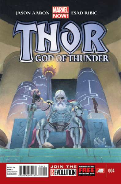 Thor: God of Thunder #4 Comic Books - Covers, Scans, Photos  in Thor: God of Thunder Comic Books - Covers, Scans, Gallery
