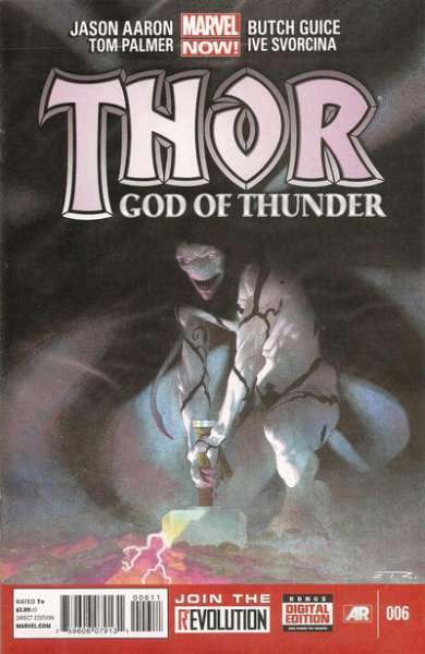 Thor: God of Thunder #6 Comic Books - Covers, Scans, Photos  in Thor: God of Thunder Comic Books - Covers, Scans, Gallery
