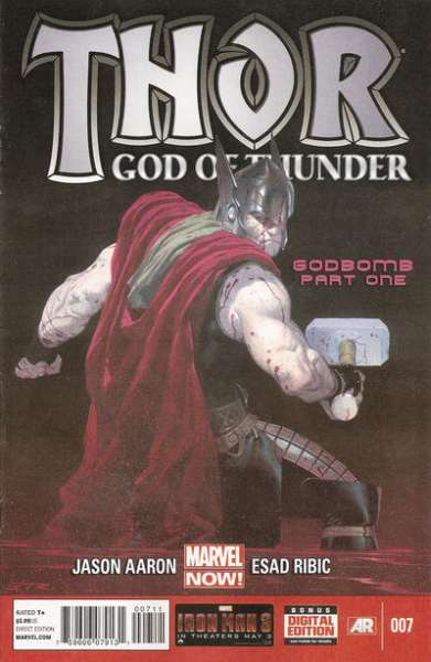 Thor: God of Thunder #7 Comic Books - Covers, Scans, Photos  in Thor: God of Thunder Comic Books - Covers, Scans, Gallery