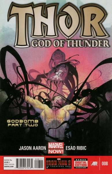 Thor: God of Thunder #8 comic books - cover scans photos Thor: God of Thunder #8 comic books - covers, picture gallery