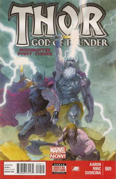 Thor: God of Thunder #9 comic books - cover scans photos Thor: God of Thunder #9 comic books - covers, picture gallery