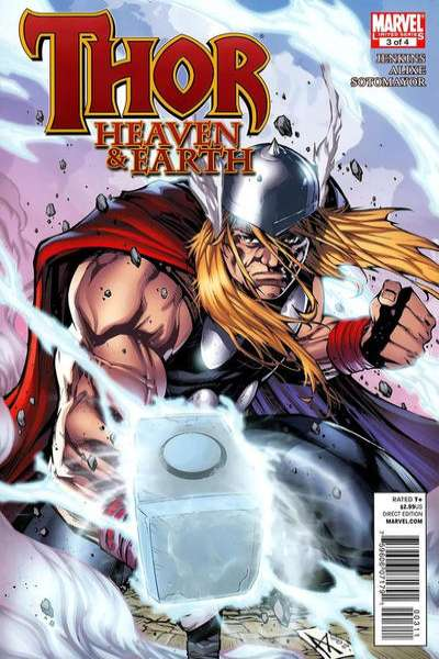 Thor: Heaven & Earth #3 comic books - cover scans photos Thor: Heaven & Earth #3 comic books - covers, picture gallery
