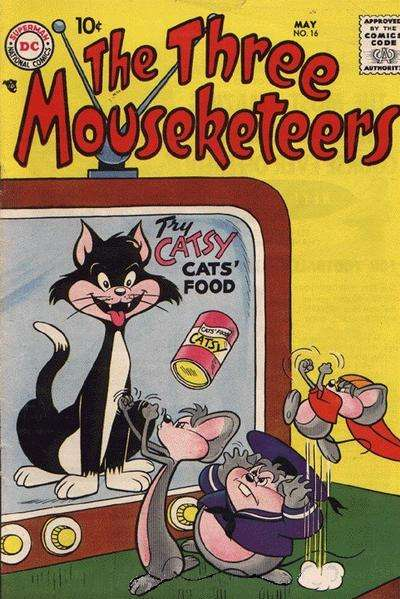Three Mouseketeers #16 Comic Books - Covers, Scans, Photos  in Three Mouseketeers Comic Books - Covers, Scans, Gallery