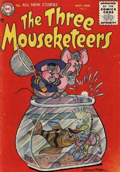 Three Mouseketeers #2 comic books - cover scans photos Three Mouseketeers #2 comic books - covers, picture gallery
