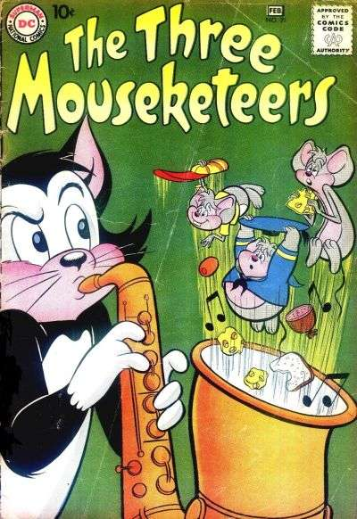 Three Mouseketeers #21 comic books for sale
