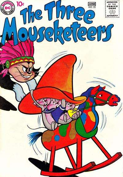 Three Mouseketeers #23 comic books - cover scans photos Three Mouseketeers #23 comic books - covers, picture gallery