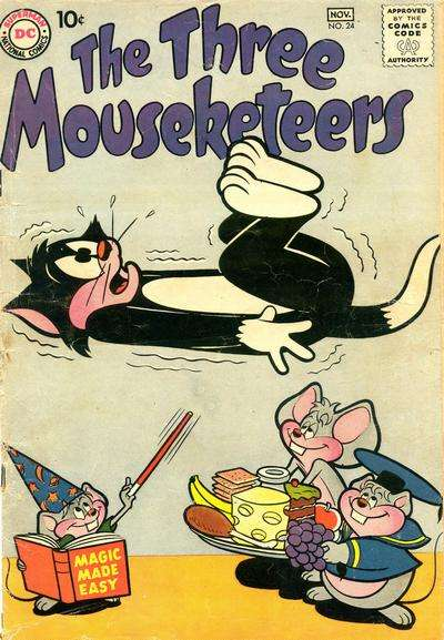 Three Mouseketeers #24 Comic Books - Covers, Scans, Photos  in Three Mouseketeers Comic Books - Covers, Scans, Gallery