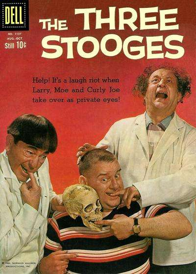 Three Stooges #3 comic books - cover scans photos Three Stooges #3 comic books - covers, picture gallery