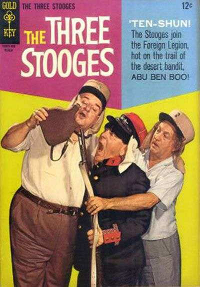 Three Stooges #27 comic books - cover scans photos Three Stooges #27 comic books - covers, picture gallery