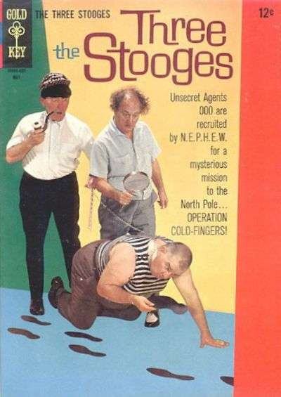 Three Stooges #28 comic books - cover scans photos Three Stooges #28 comic books - covers, picture gallery