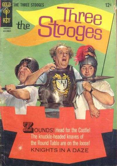Three Stooges #31 Comic Books - Covers, Scans, Photos  in Three Stooges Comic Books - Covers, Scans, Gallery