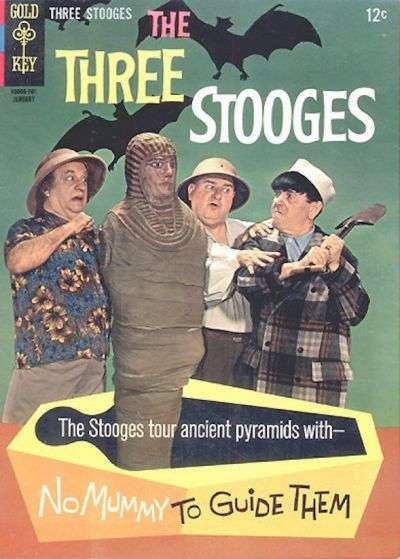 Three Stooges #32 comic books - cover scans photos Three Stooges #32 comic books - covers, picture gallery