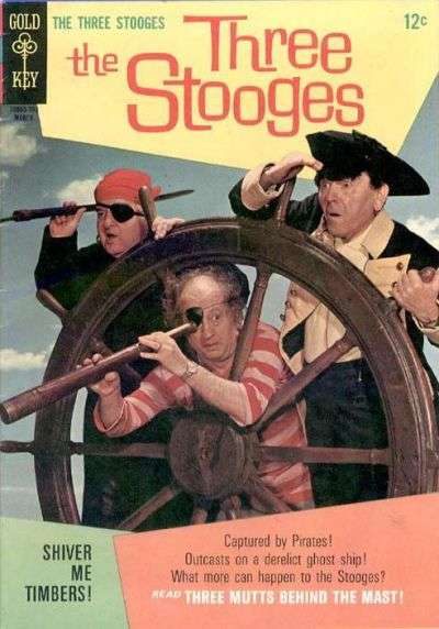 Three Stooges #33 Comic Books - Covers, Scans, Photos  in Three Stooges Comic Books - Covers, Scans, Gallery