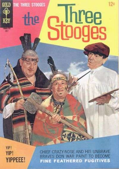 Three Stooges #35 comic books - cover scans photos Three Stooges #35 comic books - covers, picture gallery