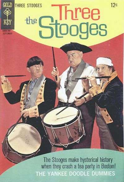 Three Stooges #36 Comic Books - Covers, Scans, Photos  in Three Stooges Comic Books - Covers, Scans, Gallery