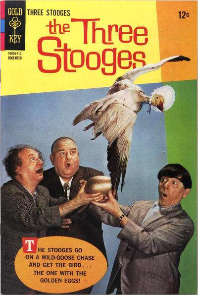 Three Stooges #37 Comic Books - Covers, Scans, Photos  in Three Stooges Comic Books - Covers, Scans, Gallery