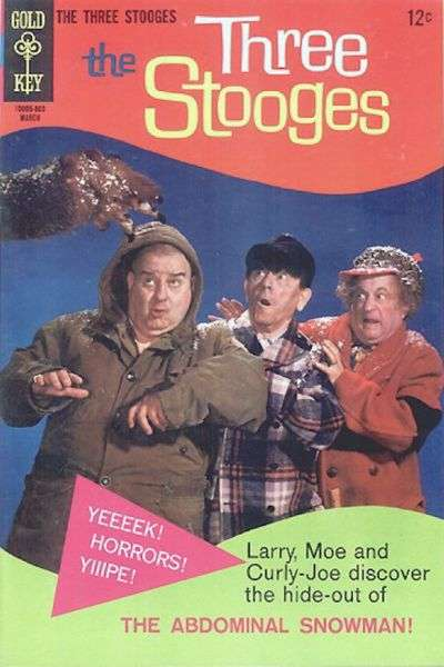 Three Stooges #38 Comic Books - Covers, Scans, Photos  in Three Stooges Comic Books - Covers, Scans, Gallery
