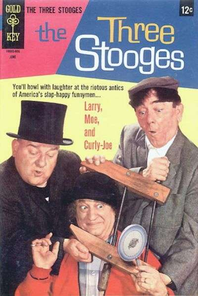 Three Stooges #39 Comic Books - Covers, Scans, Photos  in Three Stooges Comic Books - Covers, Scans, Gallery