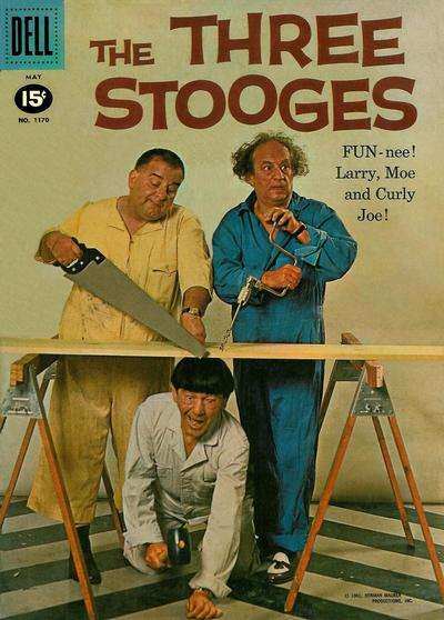 Three Stooges #4 comic books - cover scans photos Three Stooges #4 comic books - covers, picture gallery