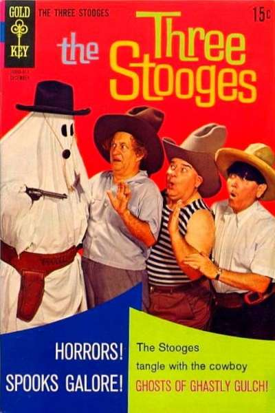 Three Stooges #41 Comic Books - Covers, Scans, Photos  in Three Stooges Comic Books - Covers, Scans, Gallery