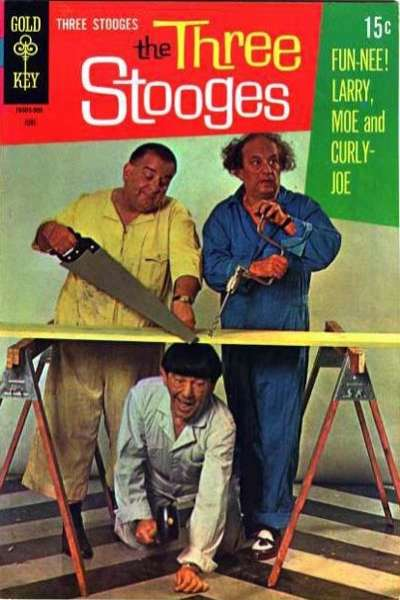 Three Stooges #43 comic books - cover scans photos Three Stooges #43 comic books - covers, picture gallery