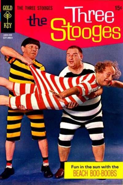 Three Stooges #44 Comic Books - Covers, Scans, Photos  in Three Stooges Comic Books - Covers, Scans, Gallery