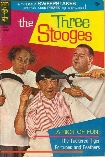 Three Stooges #45 comic books - cover scans photos Three Stooges #45 comic books - covers, picture gallery