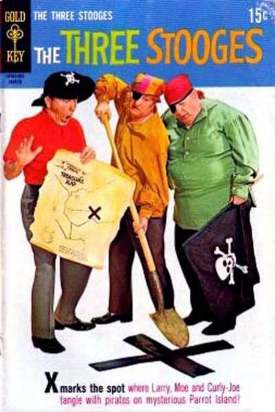 Three Stooges #46 comic books - cover scans photos Three Stooges #46 comic books - covers, picture gallery