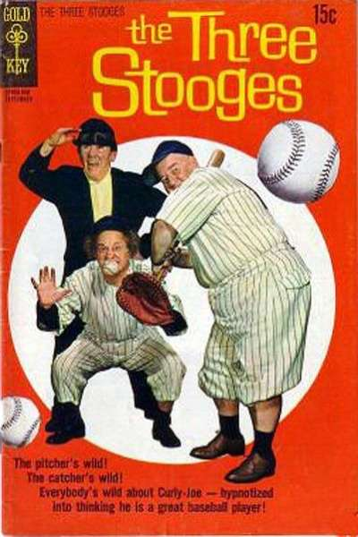 Three Stooges #48 Comic Books - Covers, Scans, Photos  in Three Stooges Comic Books - Covers, Scans, Gallery
