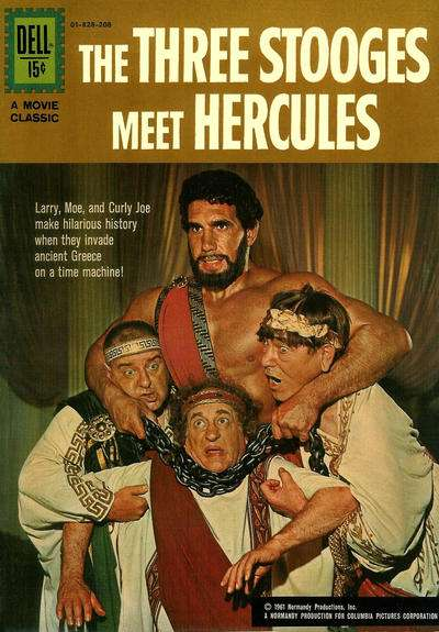 Three Stooges Meet Hercules #1 Comic Books - Covers, Scans, Photos  in Three Stooges Meet Hercules Comic Books - Covers, Scans, Gallery
