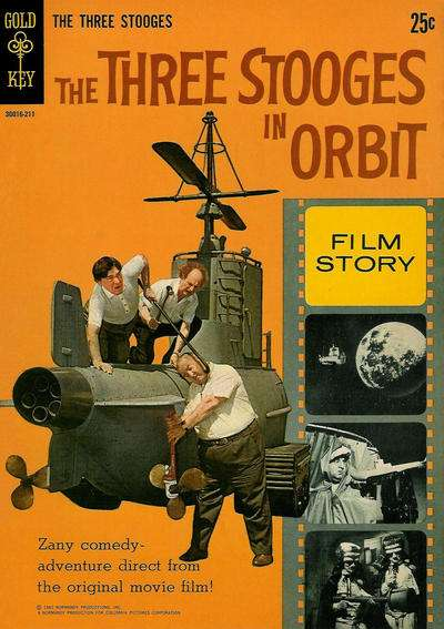 Three Stooges in Orbit comic books