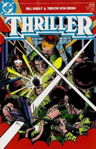 Thriller #8 comic books for sale
