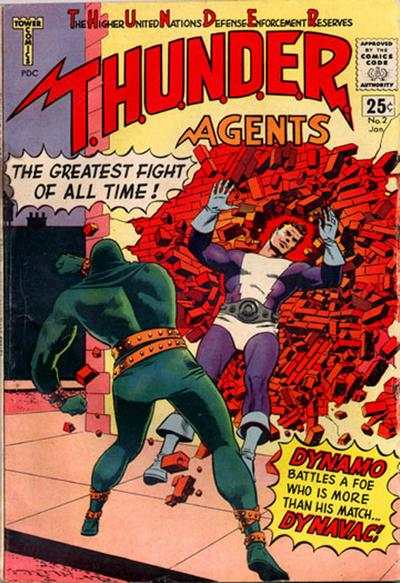 Thunder Agents #2 Comic Books - Covers, Scans, Photos  in Thunder Agents Comic Books - Covers, Scans, Gallery