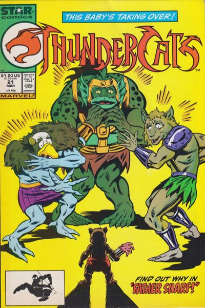 ThunderCats #21 Comic Books - Covers, Scans, Photos  in ThunderCats Comic Books - Covers, Scans, Gallery